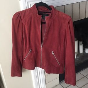 !NEW! Lucky Brand Suede Jacket